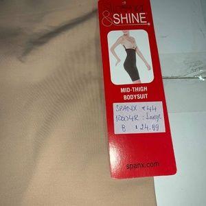 SPANX Intimates & Sleepwear - Spanx 10004R Thinstincts Girl Shorts Med NUDE SZ.L